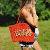Cabas à shopper sur le site 💫  #cabas #panier #boheme #ete #plage #cabasboheme #boho #picoftheweek #shopping #eshop #shoponline #frenchriviera #belettecollection #tendance #lookboheme #mode #look #boutiqueenligne
