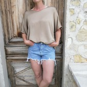 Good vibes avec le ☀️  #sun #shortjeans #blouse #belettecollection #lifestyle #frenchriviera #goodnews #love #summer #southoffrance