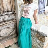 Le soleil est enfin revenu ☀️ Bonne journée à tous 😎  #collectionprintemps #frenchriviera #tendance #look #mode #style #boutiqueenligne #tenuedujour #ootd #entrepreneuse #jupe #eshopmode #fashion #fashionstyle #happy #bohostyle #picoftheday