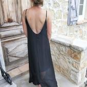 La robe noire au dos nu plongeant, parfaite la journée ou en soirée pour cet été. Qu'en pensez vous?   #robedosnu #robenoire #nouveauté #shoponline #shoppingenligne #belettecollection #picoftheweek #love #summer #sun #lookété #look #mode #fashionstyle #tendance #sexy
