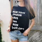Le Tee-shirt Berlin est arrivé !  #nouveauté #berlin #paris #shoponline #teeshirt #teeshirtvilles #amsterdam #pretaporter #frenchriviera #outfit #ootd #woman #dailylook #newyork #picoftheday #instamode #barcelone #rockstyle #bohostyle #boutiquefemme #mode #look #boutoqueenligne #eshopmode #fashion